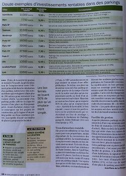 La magazine Challenges m'a interviewé pour mes bons investissements