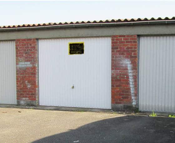 Le garage que Marc a acheté