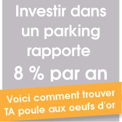 La formation parking le super cr neau 2 est disponible investir dans un p - Investir dans un garage ...