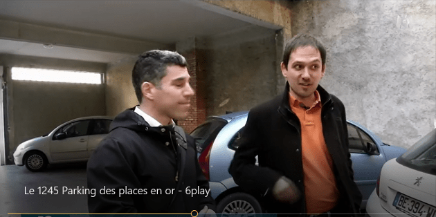 Reportage M6 parking des places en or