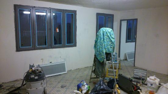 Travaux rénovation dans notre investissement commercial